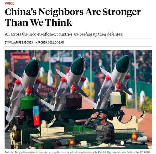 美专家:亚太邻国应自发联合抗华 无需美军亲临!
