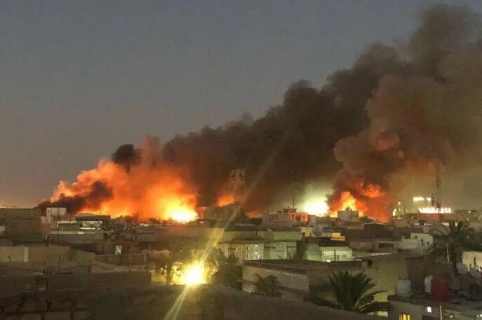 伊朗又一艘船被炸,这是一个不祥的信号!