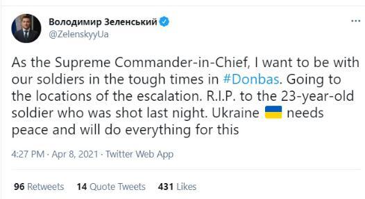 俄官员警告泽连斯基:敢动武就是乌克兰的末日!