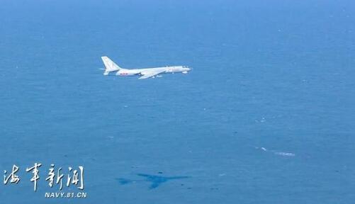 解放军军机超低空进入台西南空域 飞行高度30米