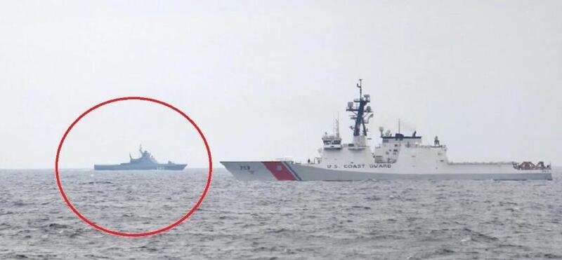 火药味浓重:美俄战舰在黑海狭路相逢!