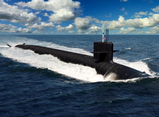 """美军""""哥伦比亚""""号战略核潜艇成本上升6亿!"""