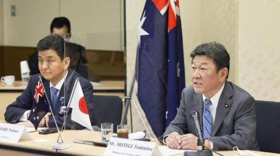 日澳2+2会议发表联合声明,会议中首次提到台海!
