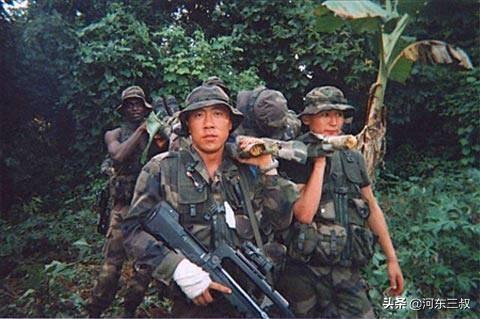 """中国唯一的""""外籍军团"""",全部中式装备却由黑人组成"""