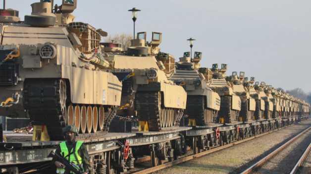 25年来规模最大!美国计划向欧洲大举增兵 还要派最强坦克