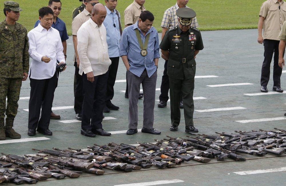 菲律宾将结束南部戒严:已能将极端威胁扼杀于萌芽