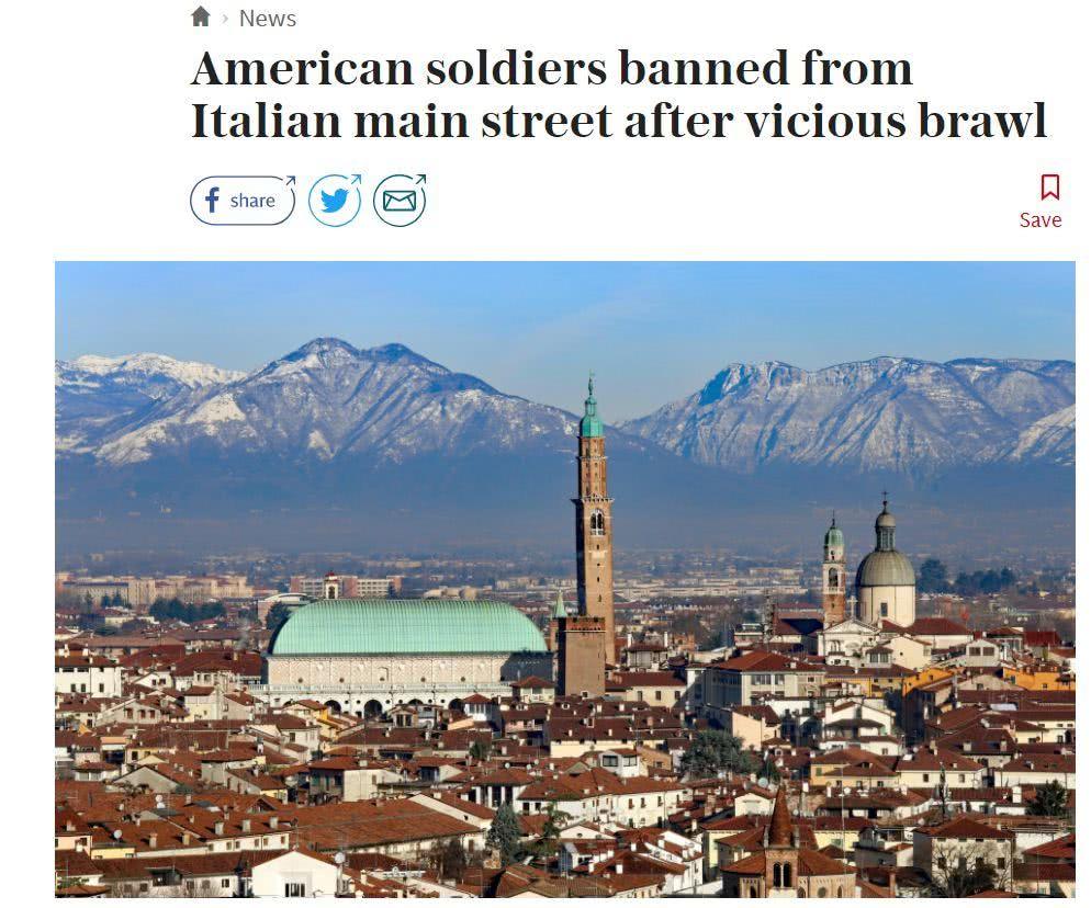 丢人,美军在意大利又闯祸了