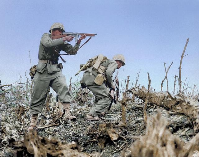 二战德军打死美军多,还是日军打死美军多?美军都没想到
