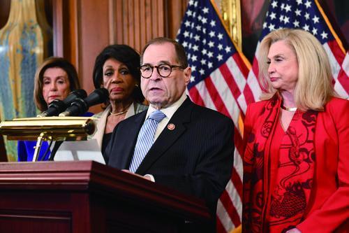 """美众议院对弹劾条款名称""""做文章"""",以""""重罪和轻罪""""弹劾特朗普"""