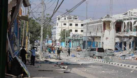索马里摩加迪沙一酒店遭袭至少4人死亡