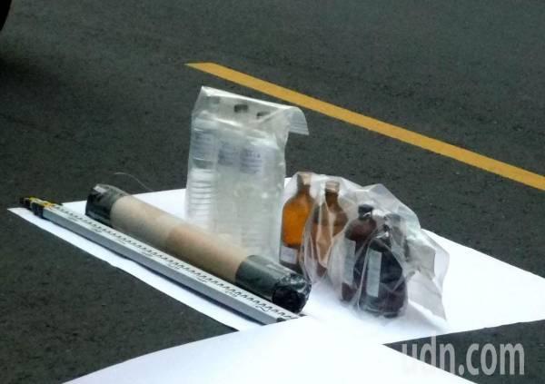 台湾地区选举史上首现爆炸物