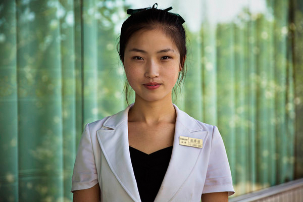 外國攝影師為朝鮮女性留影 得到反應連他自己都沒想到