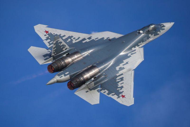 突发!俄罗斯一架苏-57战机坠毁 飞行员安全弹射