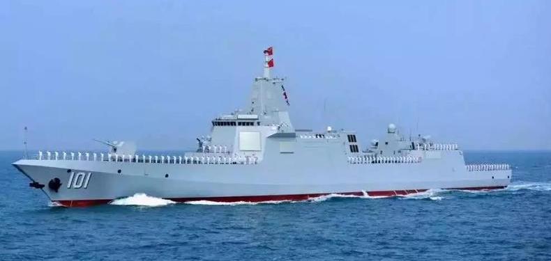 又有两艘神盾舰即将下水!今年中国下水9艘盾舰 打破美军最高纪录