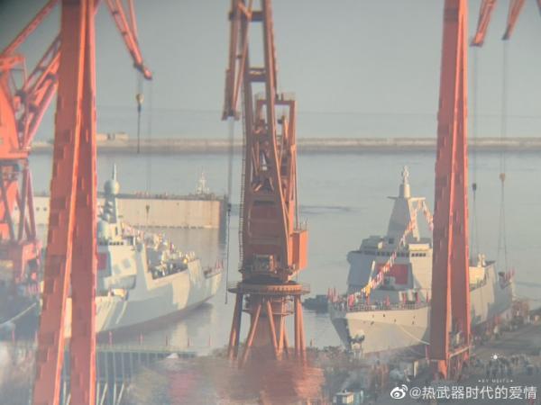 20万吨!今年中国海军下水吨位又是世界第一