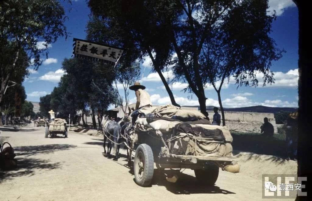 1941年 美国记者在陕西拍下的这组照片 在抗战中发挥了重要作用