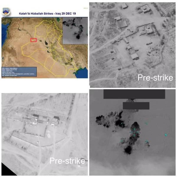 报复基地被炸,美军首次空袭伊拉克亲伊朗武装
