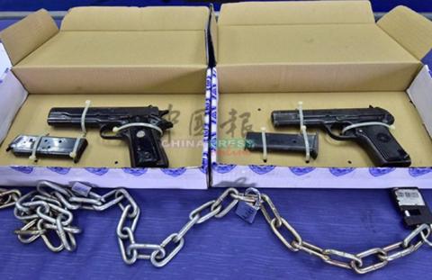 马来西亚华商遭绑票索要5000万,警方枪战救人质,腰带挡子弹