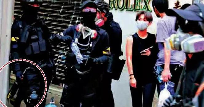 """细思极恐!乱港暴徒扬言要成立恐怖组织 想给香港""""血色圣诞"""""""