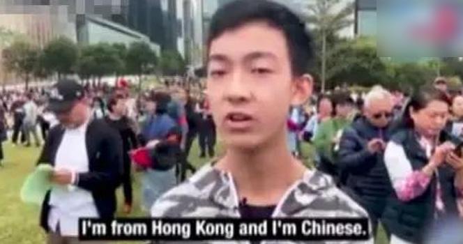 17歲香港少年怒斥黑暴!網友:這段話真是一針見血!