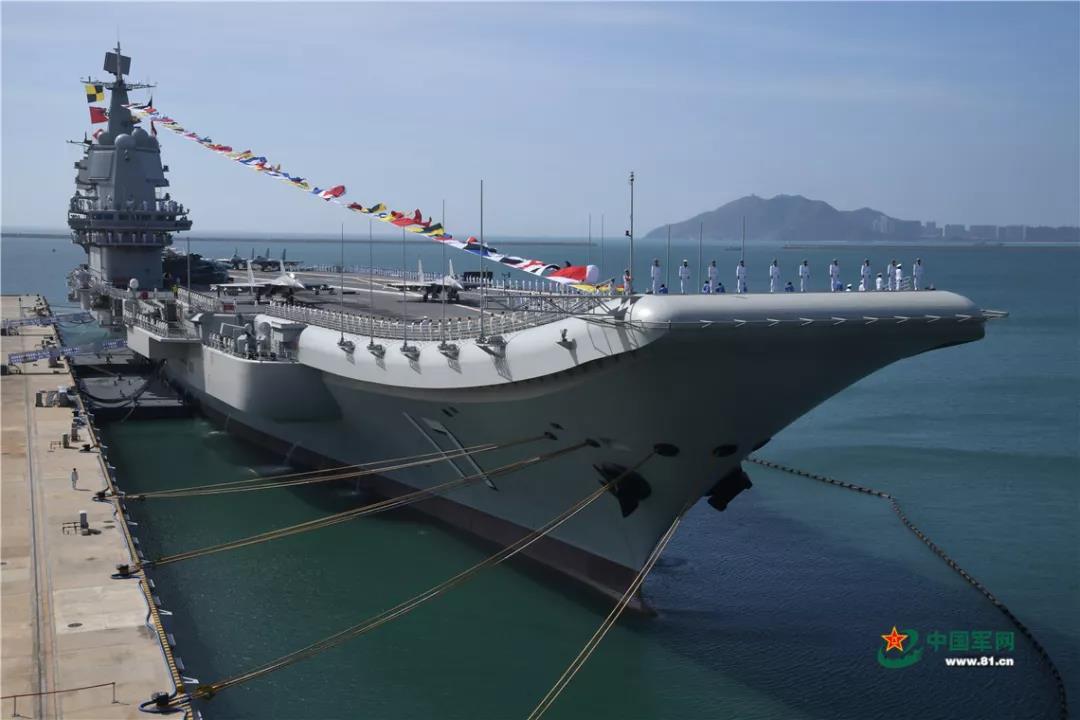 首艘国产航母交付海军,这些交接入列现场图你还没看过!