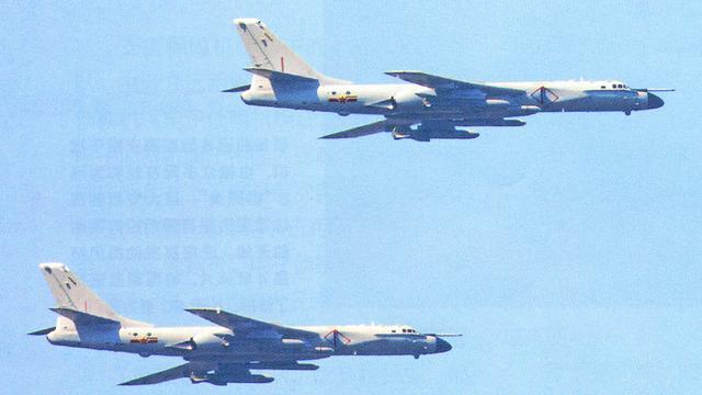 简单粗暴效果倍好!空军轰6N轰炸机右侧角度罕见曝光