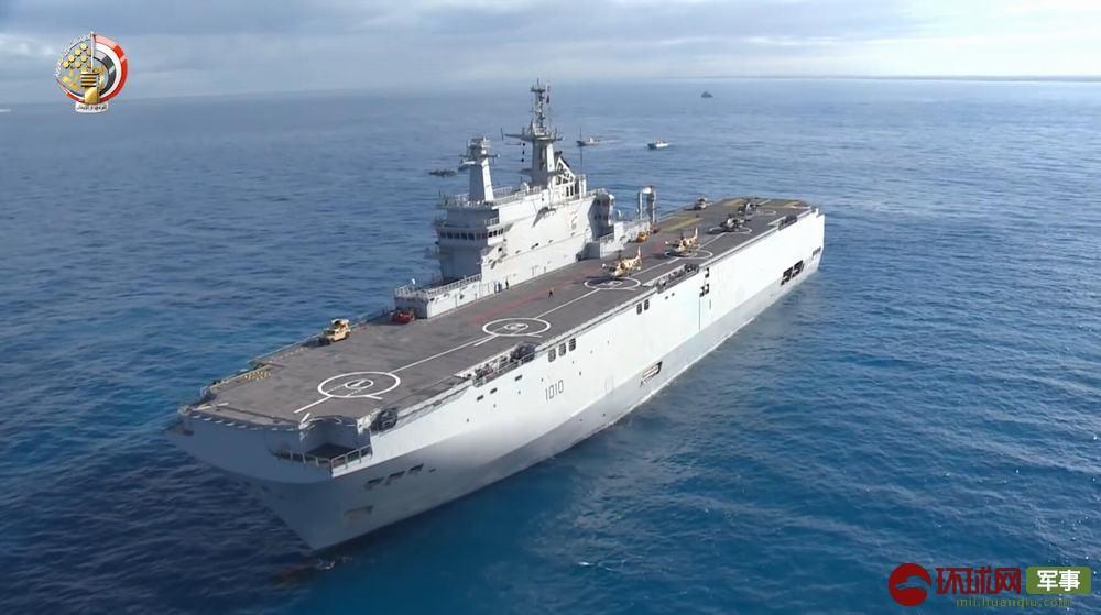 非洲准航母出动演练 同时搭载俄制卡52和美制阿帕奇武直