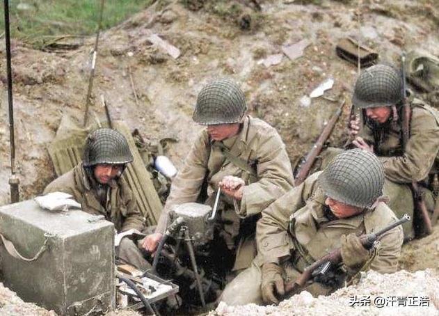 为何二战时,美军佩戴的头盔外面有一层渔网?作用超乎想象