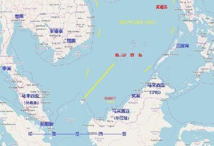 南海对峙结束 印尼军舰战机返回 中方船只全部撤离