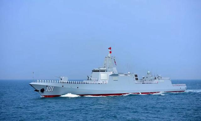 海军南昌舰正式列装海军,第四代驱逐舰中国成为领跑者