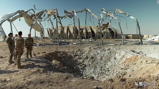 美军提前8小时,获知伊朗袭击!大兵竟伸头看热闹,被爆炸喷一脸