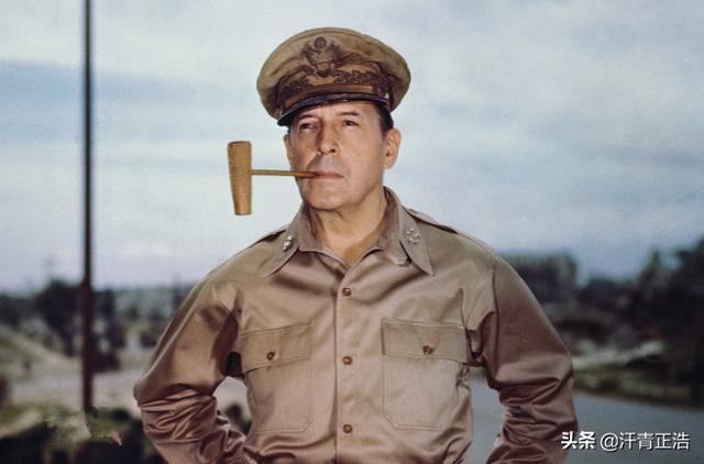 美国战争奇才麦克阿瑟,成就他的不只是战绩,还有独一无二的帽子