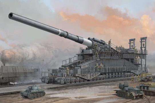 全世界最大的炮:炮弹比姚明还高,一炮轰穿十层楼