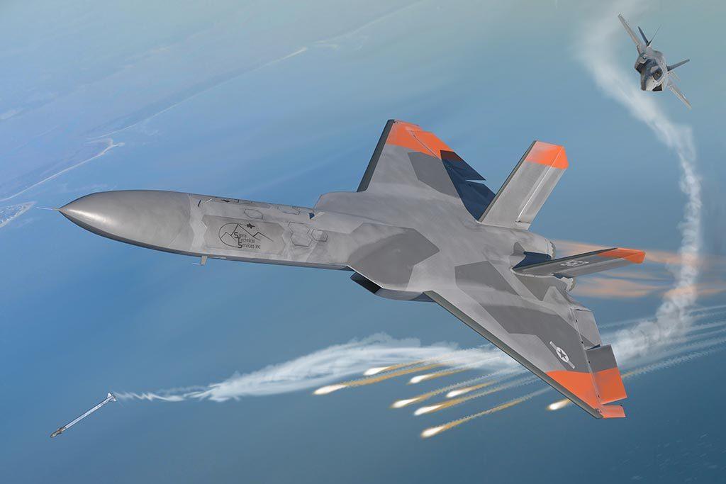 美国隐形靶机即将试飞 专门用于模拟歼20战斗机