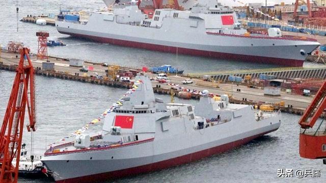 """俄媒:中国055驱逐舰很强!可看穿隐身战机,已是航母最佳""""保镖"""""""