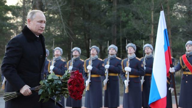 莫斯科将建最大二战档案馆,普京:让历史证明一切!