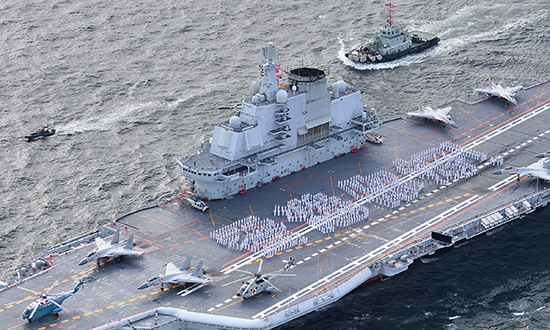 大批美国军舰直扑海峡,却被中国的架势吓跑了!