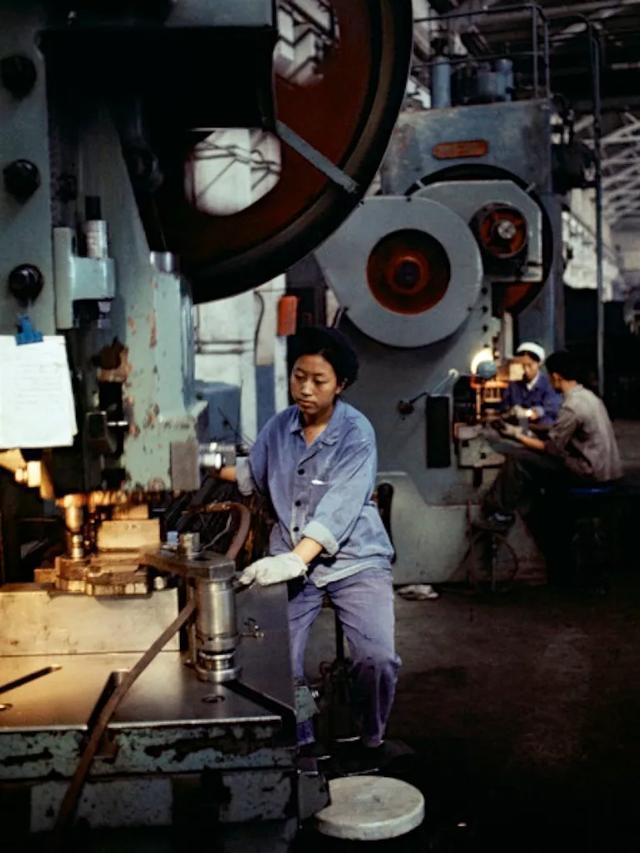 老照片:1973年的国营工厂
