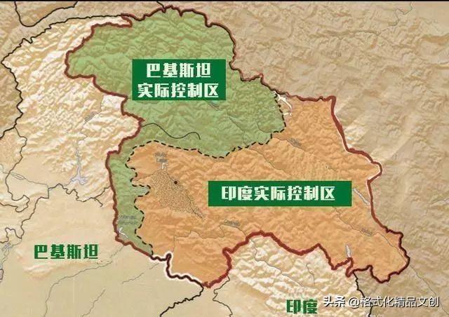 克什米尔对中国的重要性!