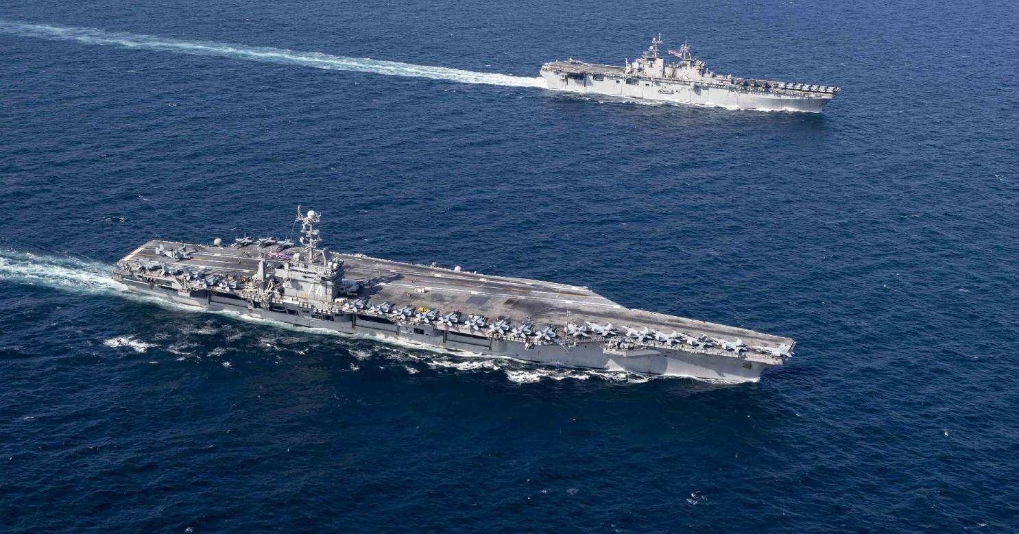 美航母紧急出动,这次目标不是针对伊朗 亚太形势严峻