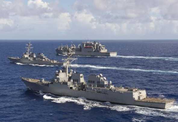 """美国正在打造一支""""空心海军""""?中国如何应对"""