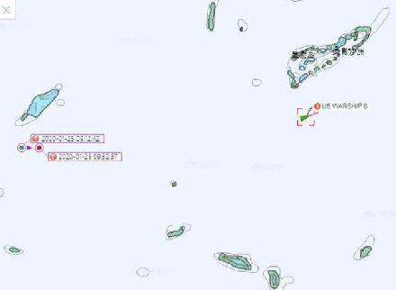 距永暑礁仅9海里!美濒海战斗舰遭耻辱性一幕