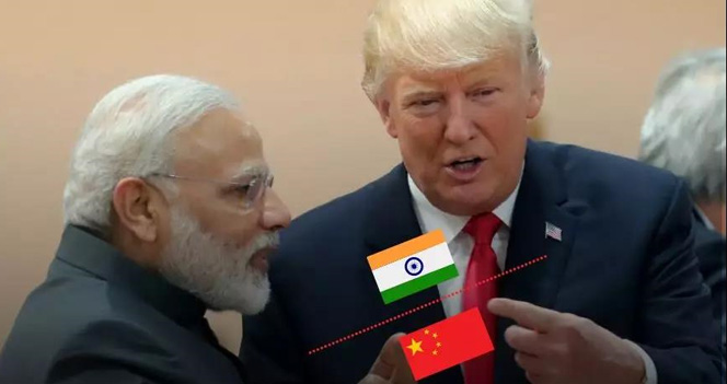 美国劝印度:干!别担心中国,你们又不挨着