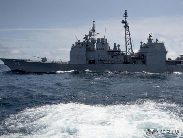 """海军专家:应警惕美战舰""""常态化""""穿越台湾海峡之野心"""