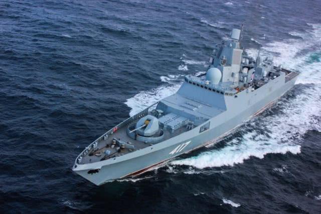 外媒:别看这船小毛病又多,是它救了俄罗斯军事造船业