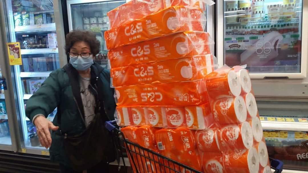 奇葩!香港全城抢厕纸,究竟为哪般?