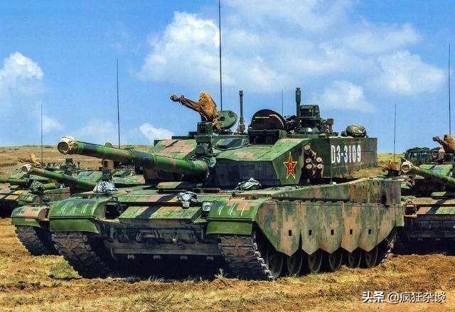 99A坦克防护能力咋样,自己的穿甲弹都没招,中国制造再夺眼球。