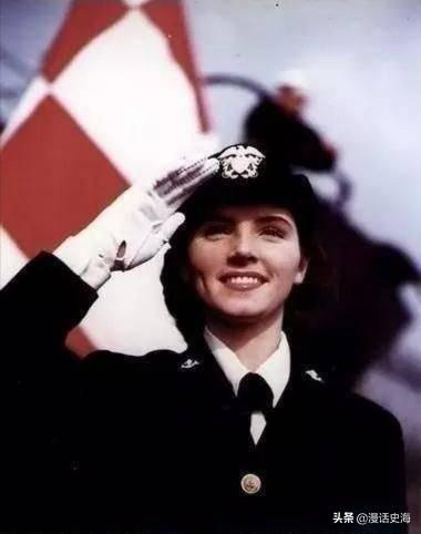 历史老照片:二战期间的美国女兵,美得那么惊艳