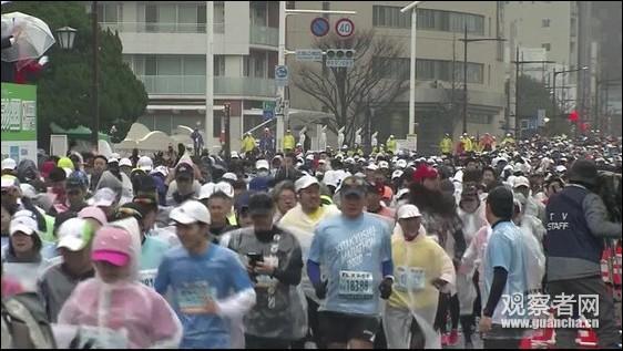 疫情严重 日本多场万人马拉松仍如期举行!