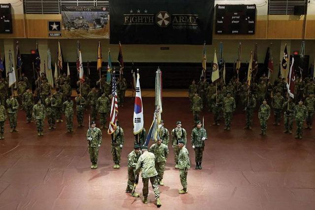 文在寅掀起反美旗帜,50亿一分没有 还要让美军赔偿8亿